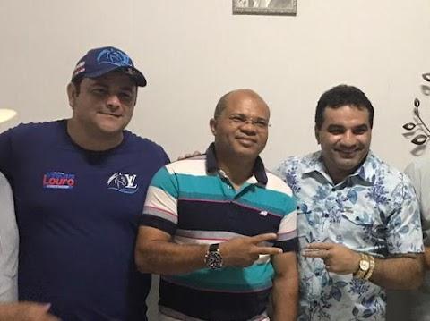 Josimar Maranhãozinho e Vinícius Louro confirmam apoio a Valney Gomes em Poção de Pedras