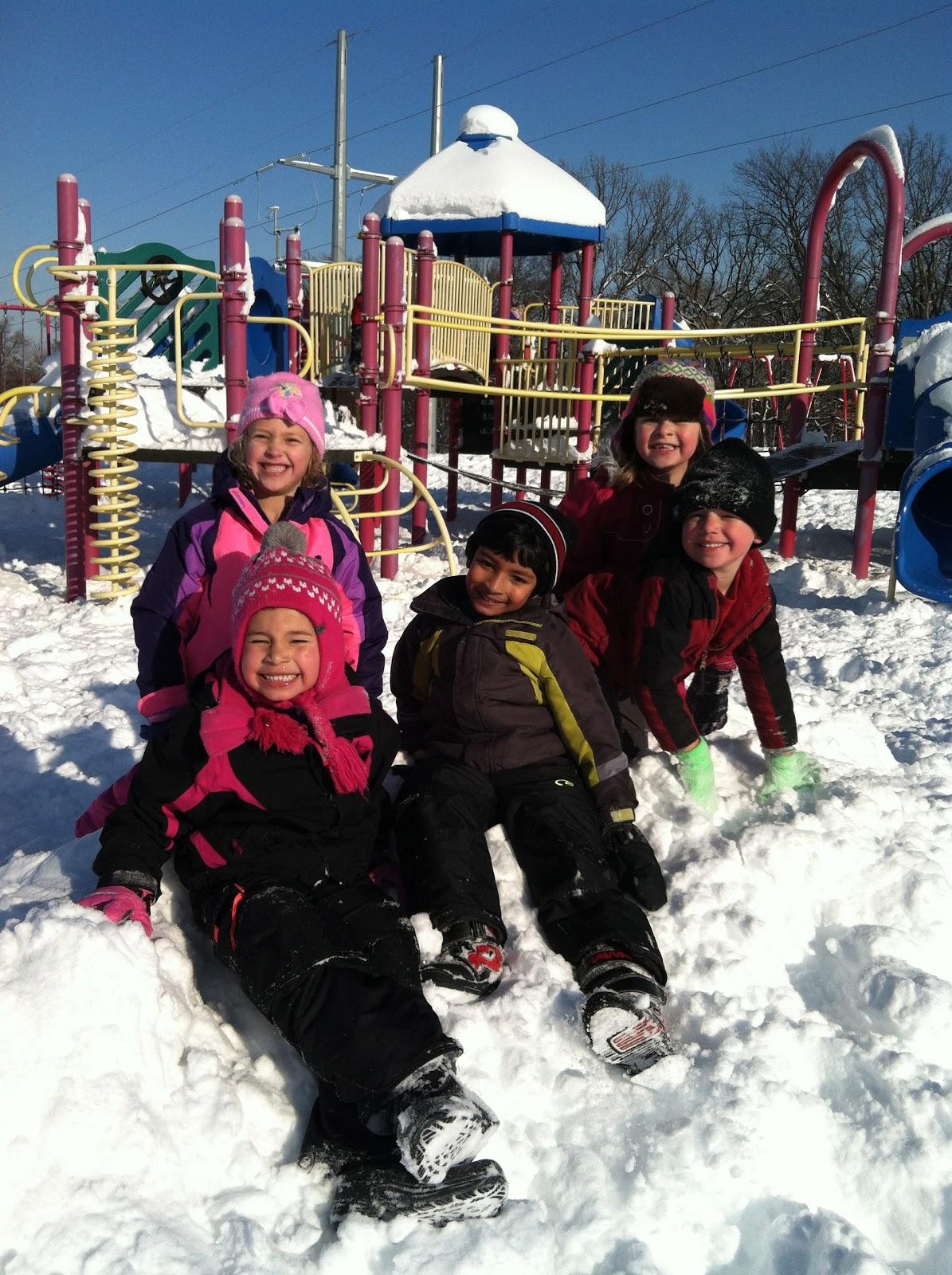 Mrs Kurt S All Star Kindergarten Blog A Snowy Day