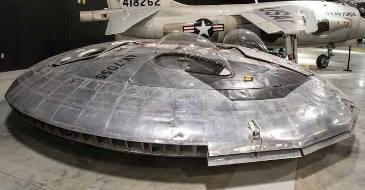 VZ-9 Avrocar bir UFO uçak projesiydi ama beklenen performansı gösteremedi.