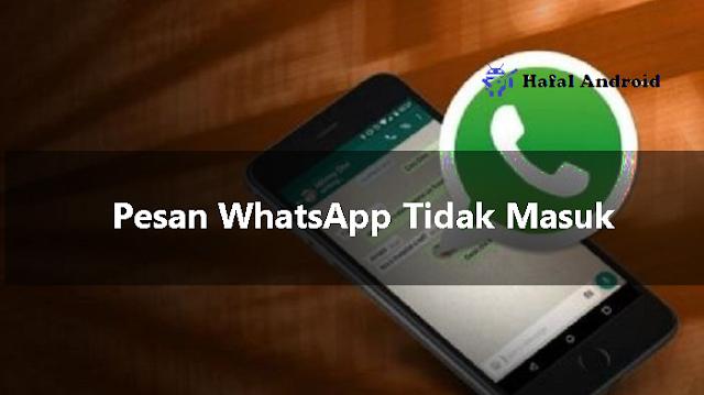 15 Solusi Pesan WhatsApp Tidak Masuk Terbukti Berhasil!