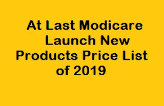 Modicare Launch New Products Price List of 2019