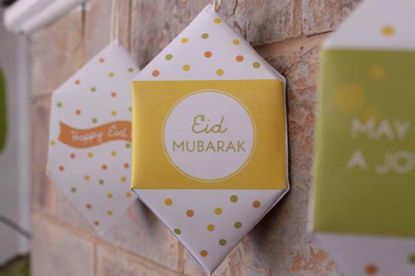 Dekorasi Ramadhan Simple Lipatan Kertas