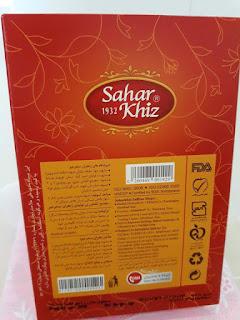 Nhụy họa nghệ tây thượng hạng Negin Saffron Iran hộp 5g.