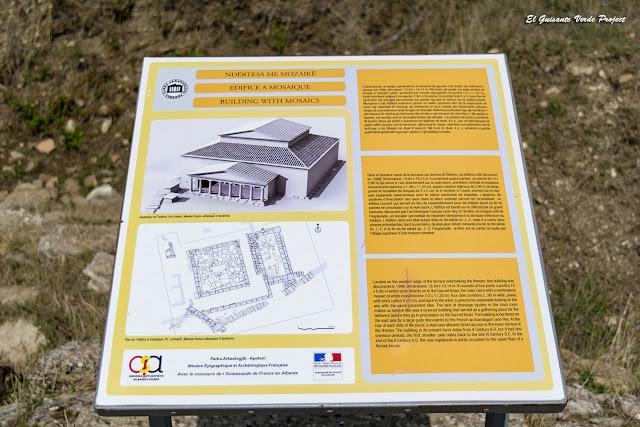 Reconstrucción de Domus con mosaicos - Apolonia de Iliria, Albania por El Guisante Verde Project