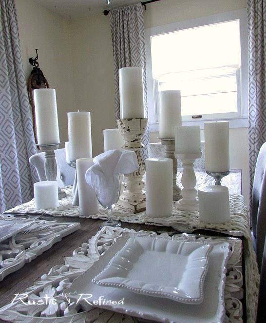 The Best White Table Decor
