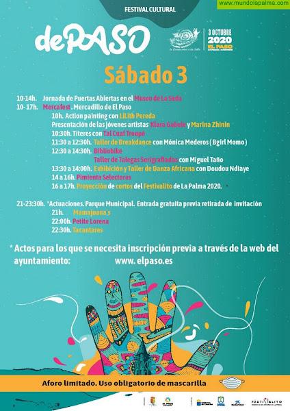 El VI Festival dePASO retoma su programación de actividades