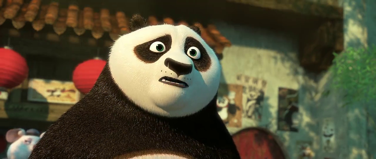 Screen Shot Of Kung Fu Panda 3 2016 In Hindi English Dual Audio Bluray
