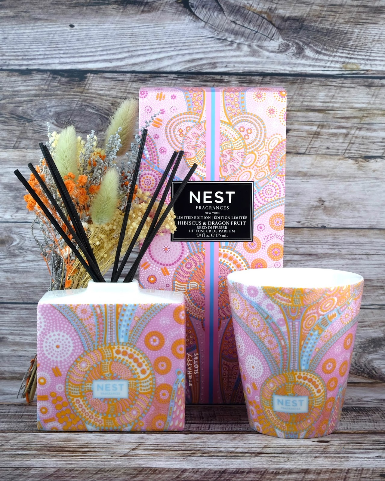 NEST Fragrances | Hibiscus & Dragonfruit Scented Candle & Reed Diffuser: Review