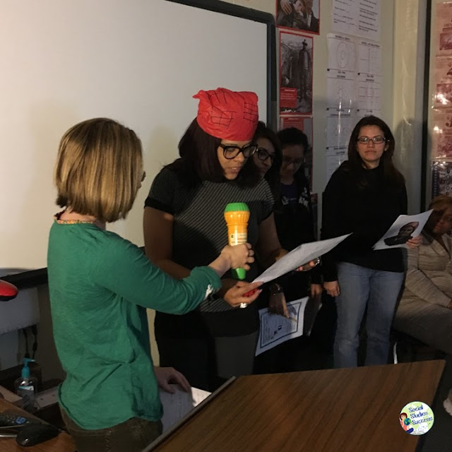 Do something different for Black History Month this year. Create a Prop Box Play on the contributions of different African Americans in U.S. History. My students love bringing history to life with plays and skits, and a Prop Box Play adds the structure you need for group work to actually work!