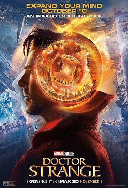 Poster Of Doctor Strange 2016 480p English CAMRip Full Movie Download