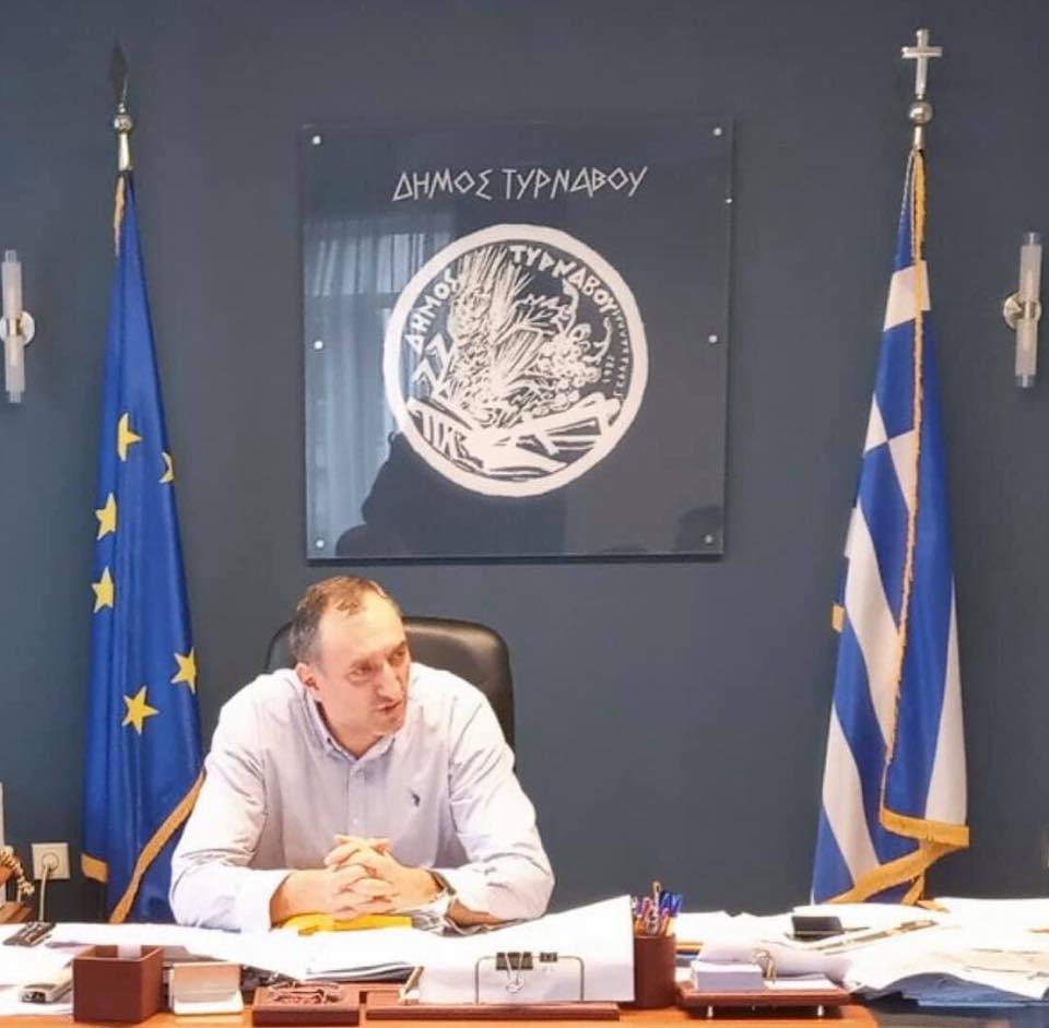 Συγχαρητήριο μήνυμα του Δημάρχου Τυρνάβου Γιάννη Κόκουρα προς μαθητές και δασκάλους του 1ου Δημοτικού Σχολείου Αμπελώνα