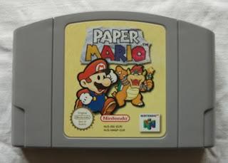 Paper Mario - Cartucho delante