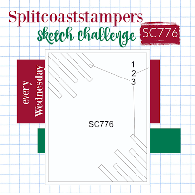 Splitcoaststampers Card Sketch Challenge 776