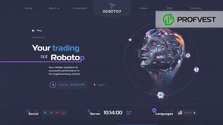 Robotop обзор и отзывы HYIP-проекта