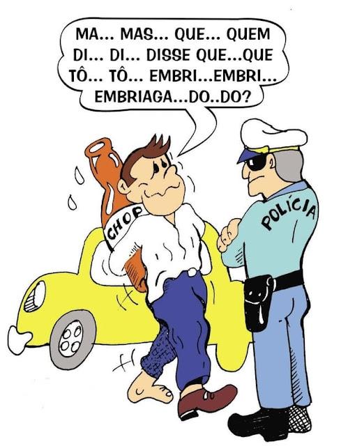 Motorista embriagado em Canoinhas