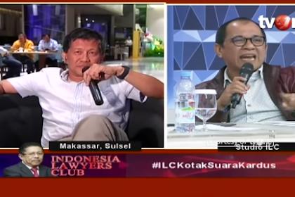 Akbar Faizal Sebut TV One Halangi Dirinya untuk Ungkap Tipuan Rocky Gerung