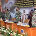 Berlangsung Vicon, Gubernur AAL Hadiri Rapat Pimpinan TNI Tahun 2021