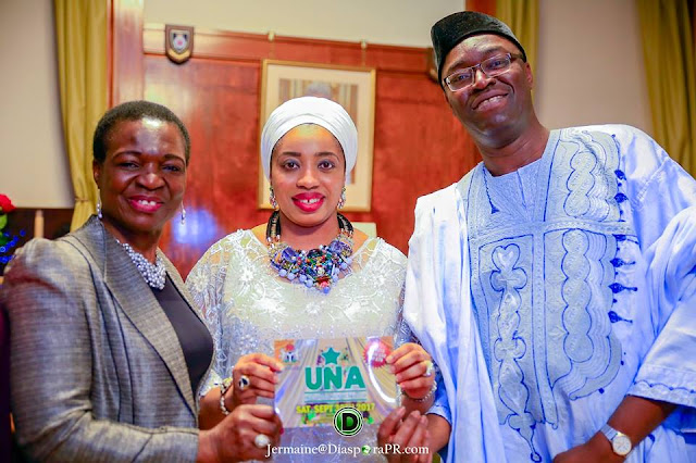 Onni of Ife London visit