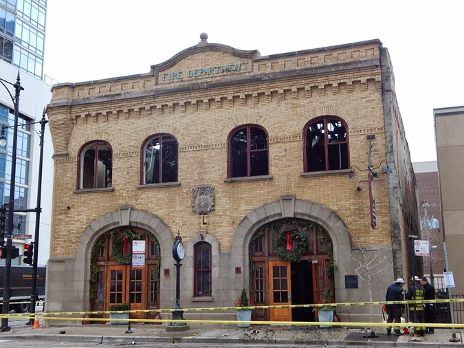 """1a897822 Through their history and architecture, Chicago's historic firehouses show  how ideas about fire protection and the firehouse itself evolved over time."""""""