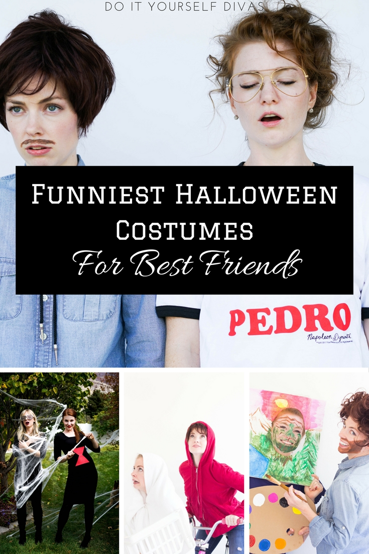 Cute Best Friend Halloween Costumes Funny.Do It Yourself Divas Funny Diy Halloween Costumes For Best