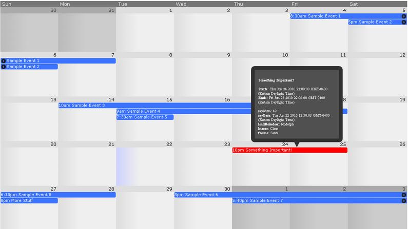 Jquery Responsive calendar Plugins Top 10 Reviews - JqueryRiver