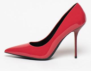 Gino Rossi - Дамски червени Обувки от лачена кожа