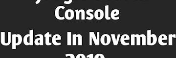 Google Search Console Update In November