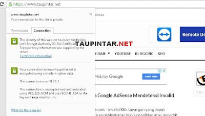 Mengaktifkan HTTPS di dengan Custom Domain
