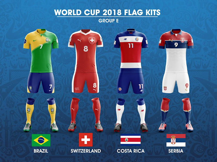 13de006fe 32 Stunning World Cup Flag Kit Concepts Revealed - Footy Headlines
