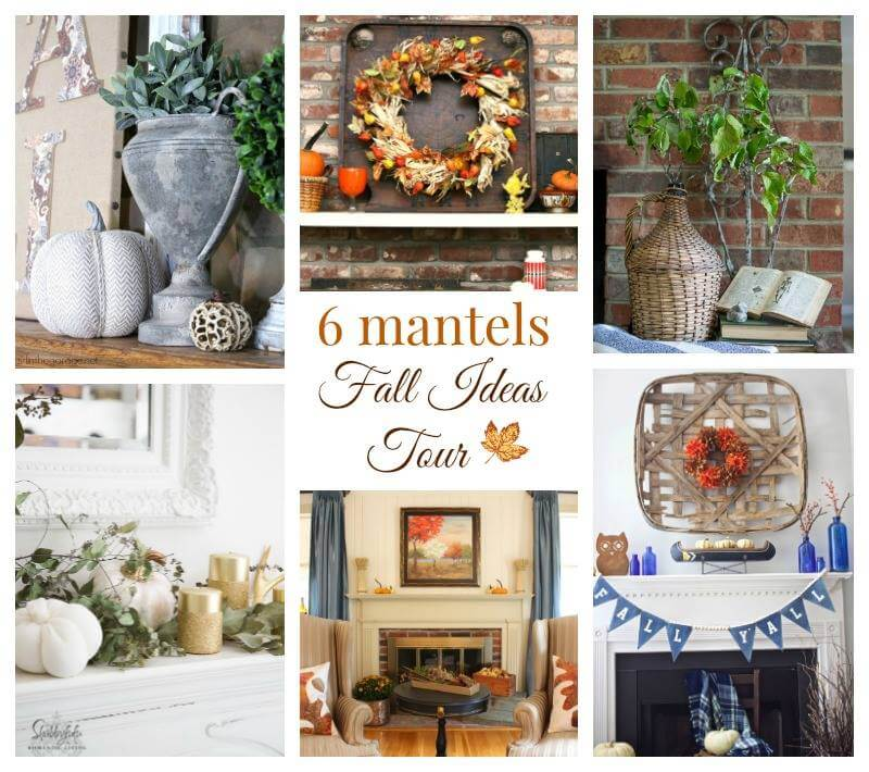 Fall Ideas Tour 2016 Mantels
