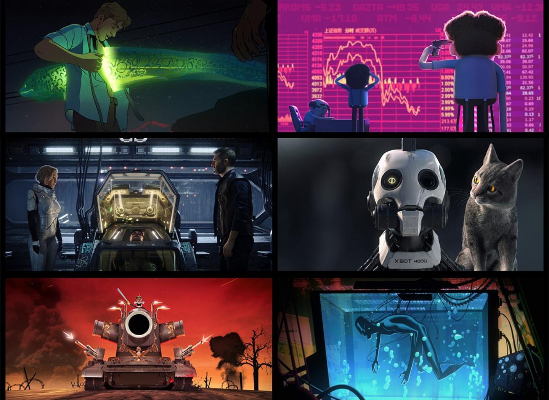 The Wertzone: Love, Death and Robots: Volume 1