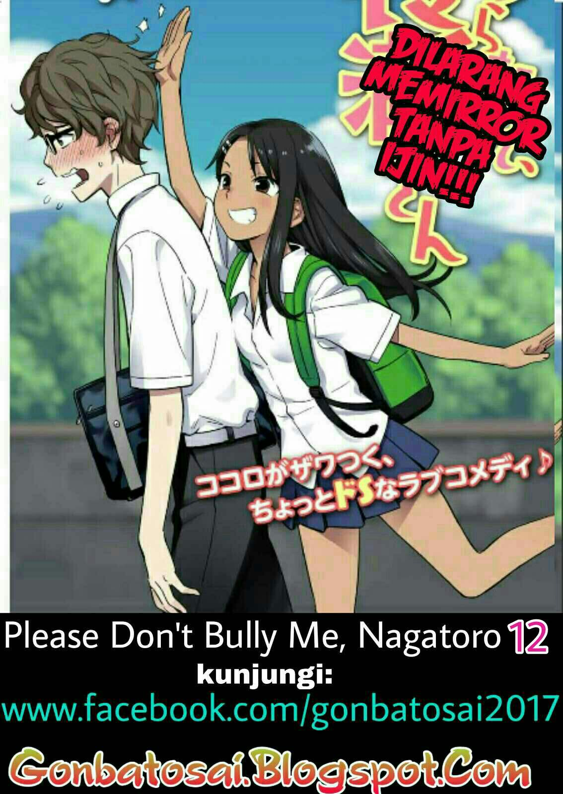 Baca Komik Please don't Bully me Nagatoro Chapter 12 Bahasa Indonesia Komikindo