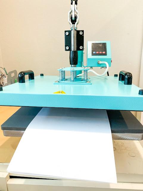 heat press, 8-in-1 heat press, pressure knob, heat transfer vinyl, heat press basics
