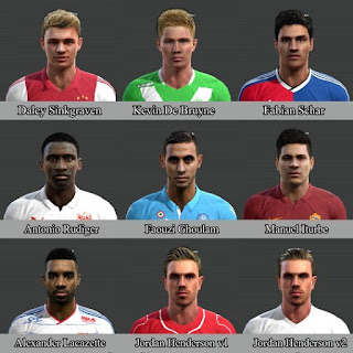 Faces vol 3 Pes 2013 By Bou7a