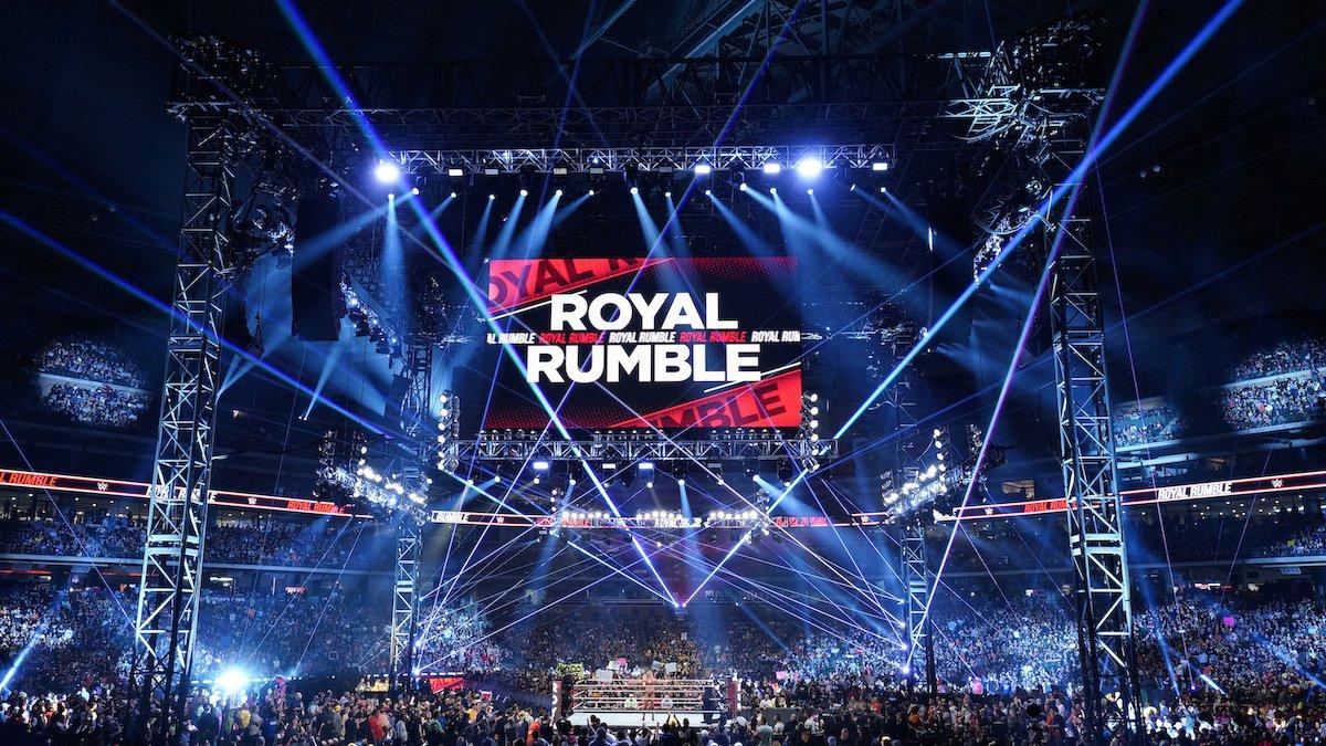 WWE revela a data do Royal Rumble 2022