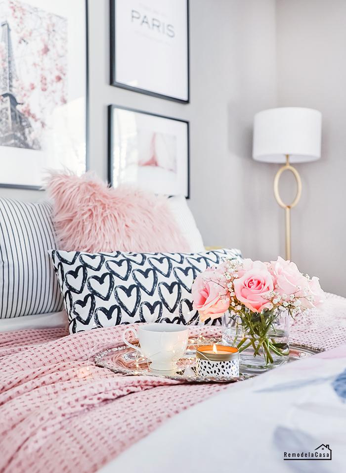 A charming Parisian bedroom - DIY Makeover
