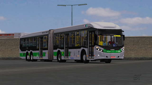 OMSI 2 - Caio Millennium BRT II MB O-500 UDA Euro V Superarticulado