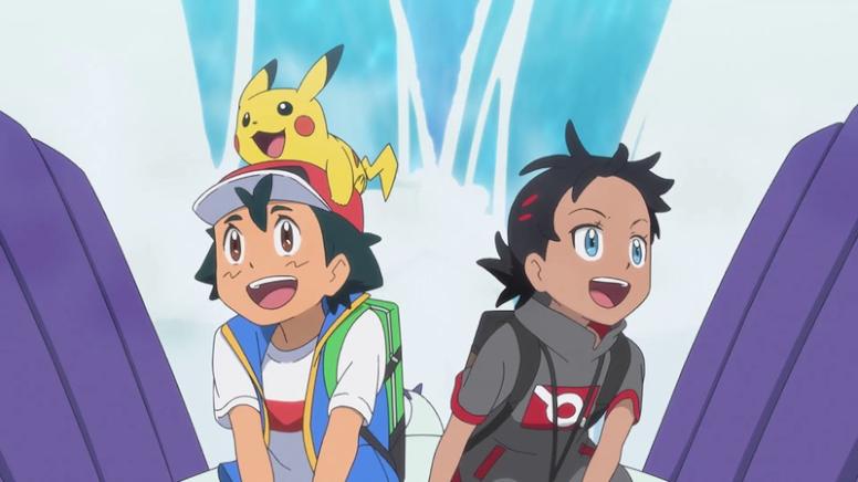 Ash e Goh Jornadas Pokémon