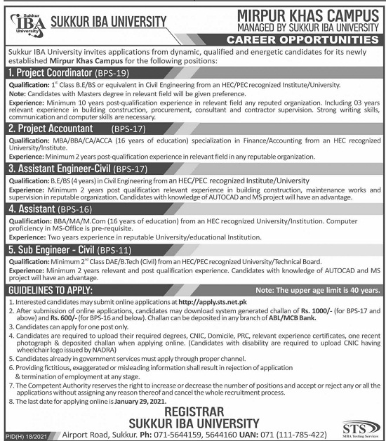 sukkur-iba-university-jobs-2021-sts-apply-online