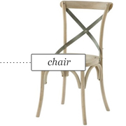 Kason Side Chair by Aidan Gray Furniture via Layla Grayce