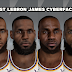 Lebron James Best Cyberfaces Mega Pack [FOR 2K21]