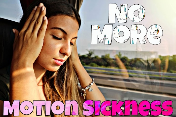 How To Handle Sudden Motion Sickness in Car, Bus and Plane?