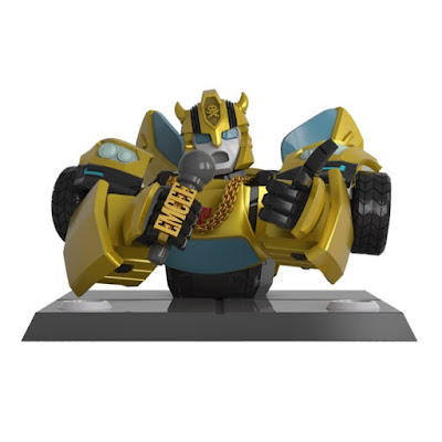 Transformers G1 Bumblebee Vinyl Bust by Quiccs x Mighty Jaxx x Hasbro