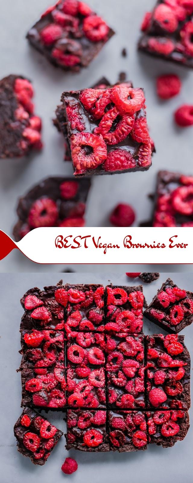 BEST Vegan Brownies Ever