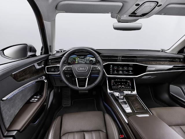 Audi A6 se destaca no Salão de Genebra