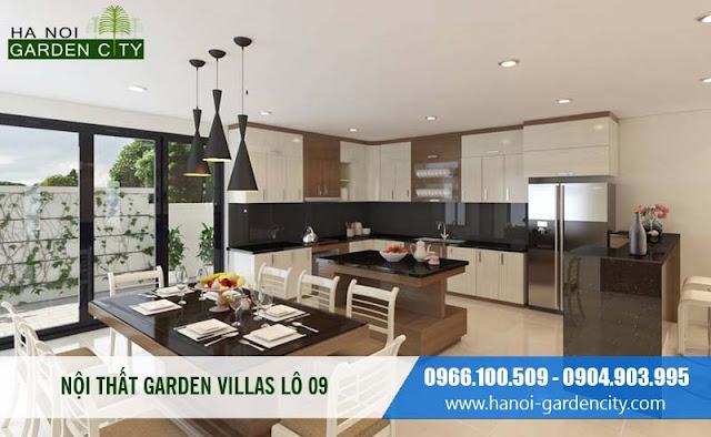 Nội thất Garden Villas Long Biên