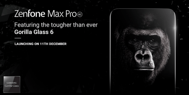 Asus ZenFone Max Pro M2 & Zenfone Max M2 Specifications Leaked, Launching on December 11