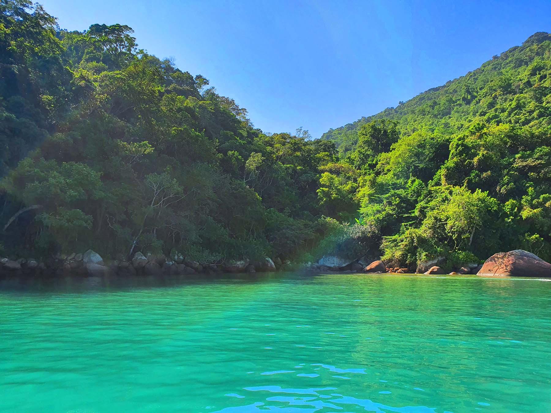 Praia do Buraco, Saco do Mamanguá, Paraty