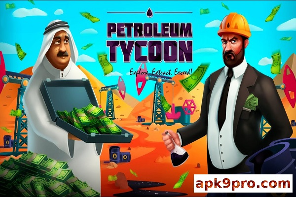 Idle Oil Tycoon: Gas Factory Simulator v3.5.1 Apk + Mod (File size 51 MB) for android