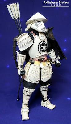"Review del ""Yumi Ashigaru Stormtrooper"" de Tamashii Nations."
